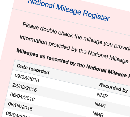 Sample Mileage Report